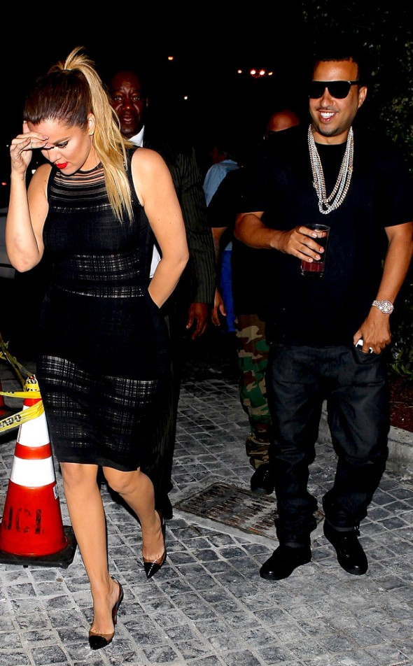 khloe and french